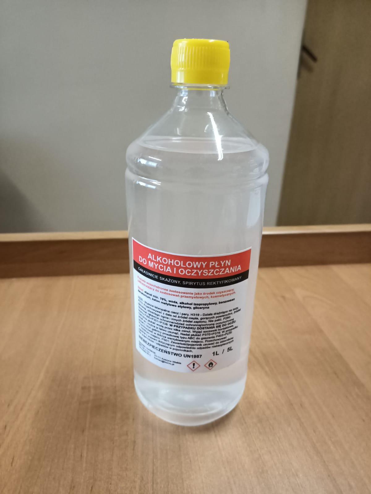 ALKOHOLOWY PŁYN DO MYCIA 1L DR-016